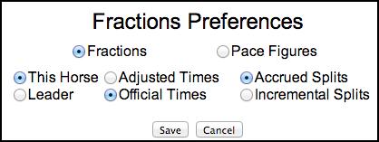 Pace Figures Added to TimeformUS Past Performances   TimeformUS