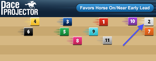 Belmont Stakes Pace Projector