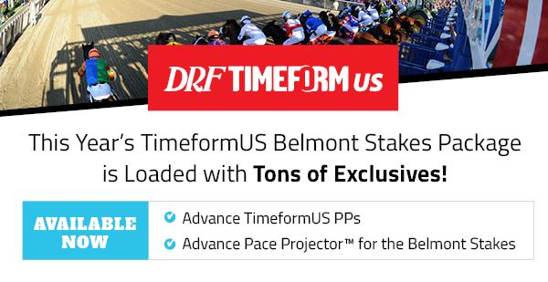TimeformUS Belmont Stakes Analysis: An improving Sir Winston